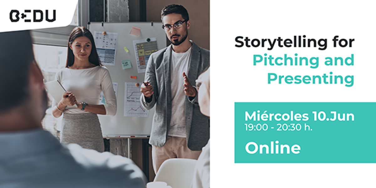 Storytelling por pitching and presenting