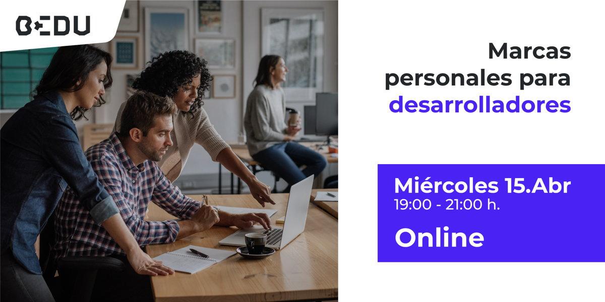 Clase online gratuita sobre marca personal para desarrolladores